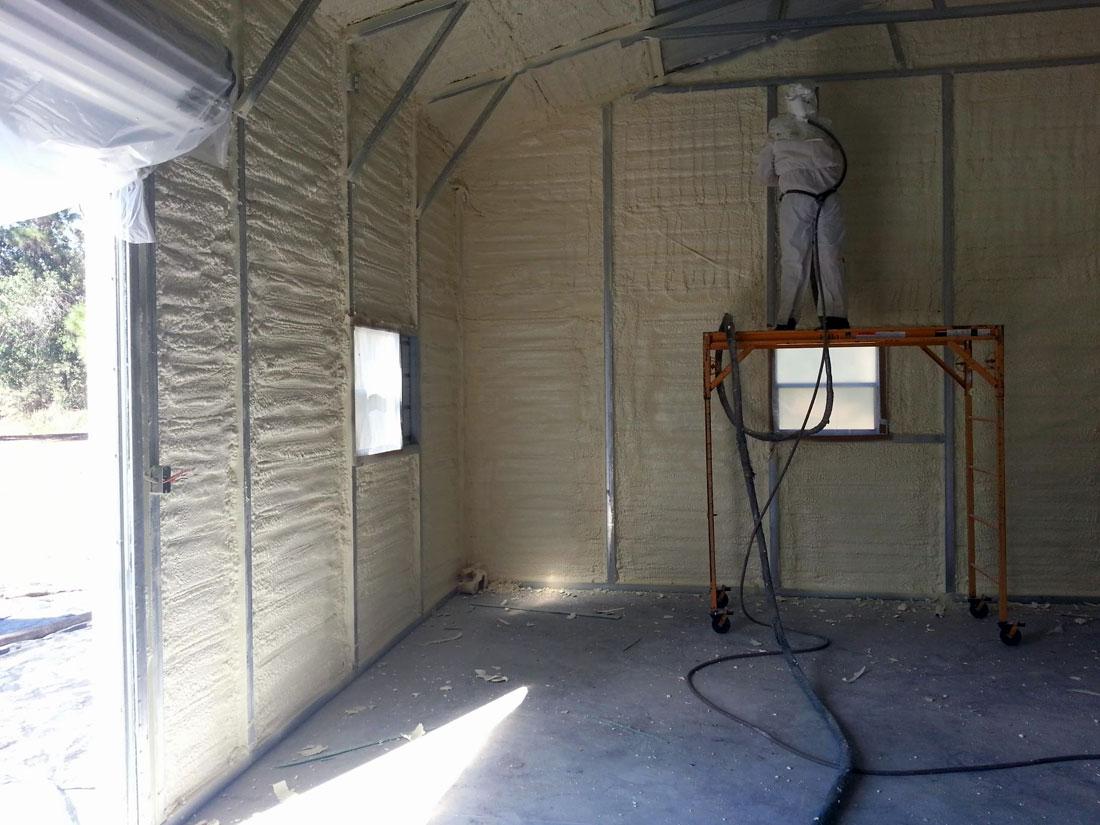 Spray Foam Insulation Gallery Of Spray Foam Insulation
