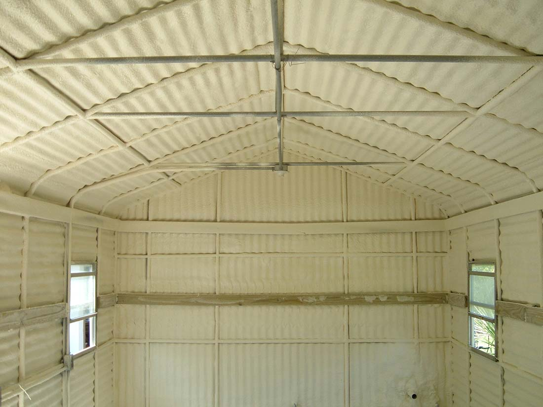 Cost Of Closed Cell Insulation For A Metal Building
